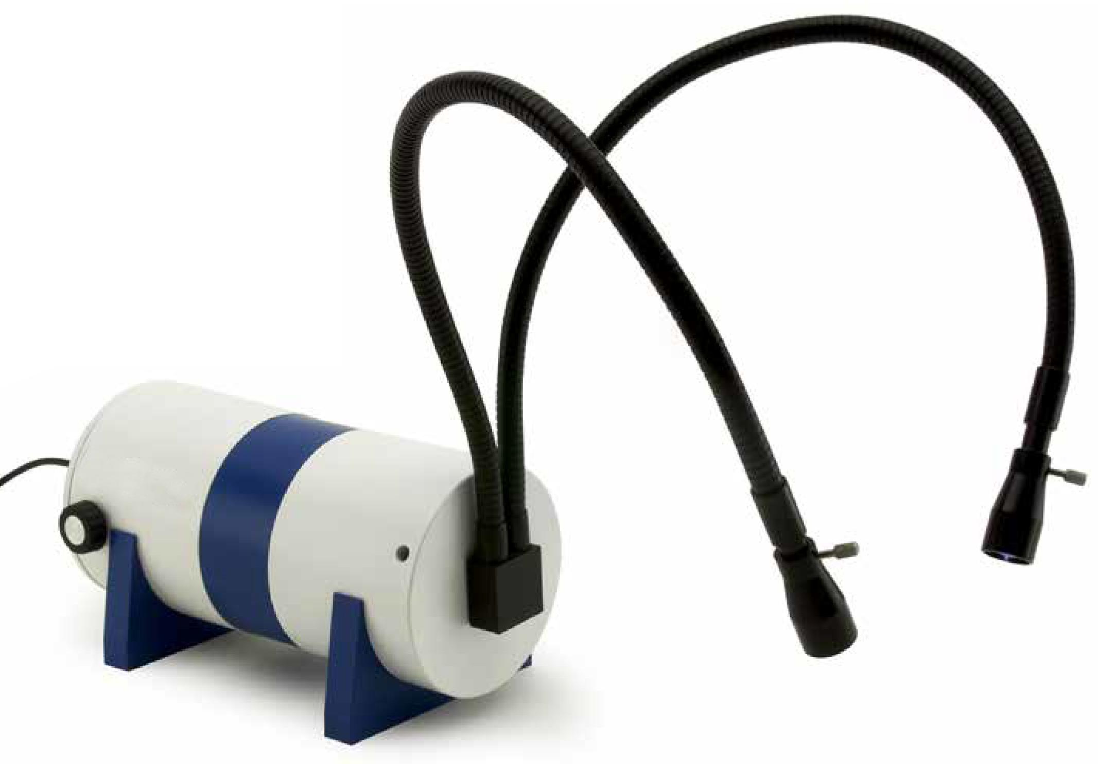 Illuminatori industriali a fibre ottiche a luce fredda